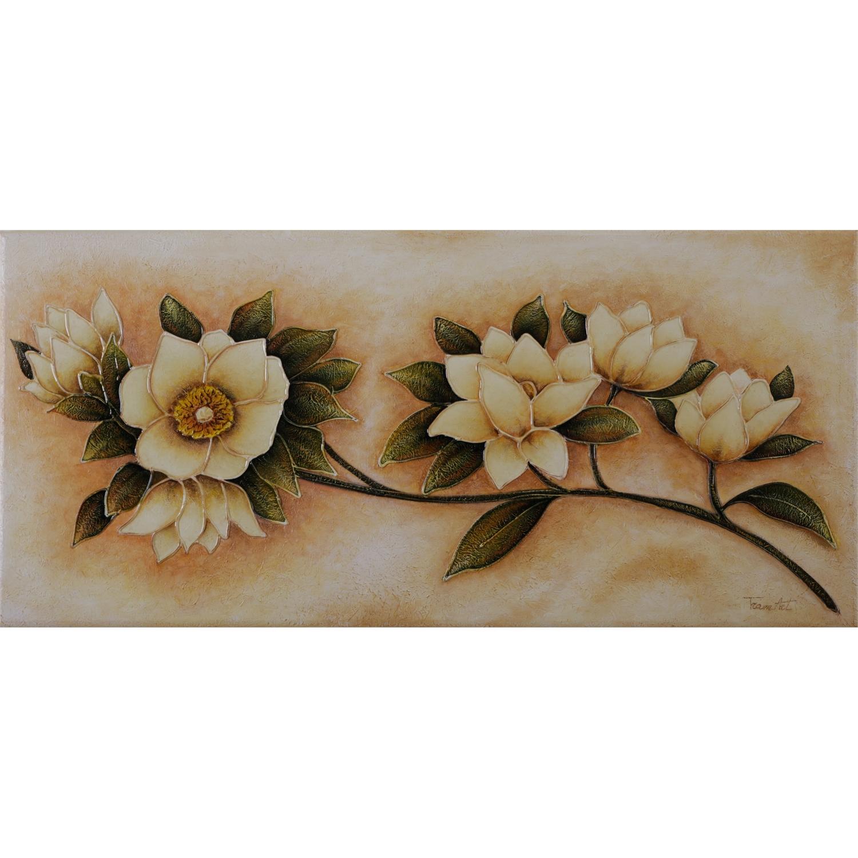 Quadro moderno floreale quadri arte e cornici gallery for Quadri fiori